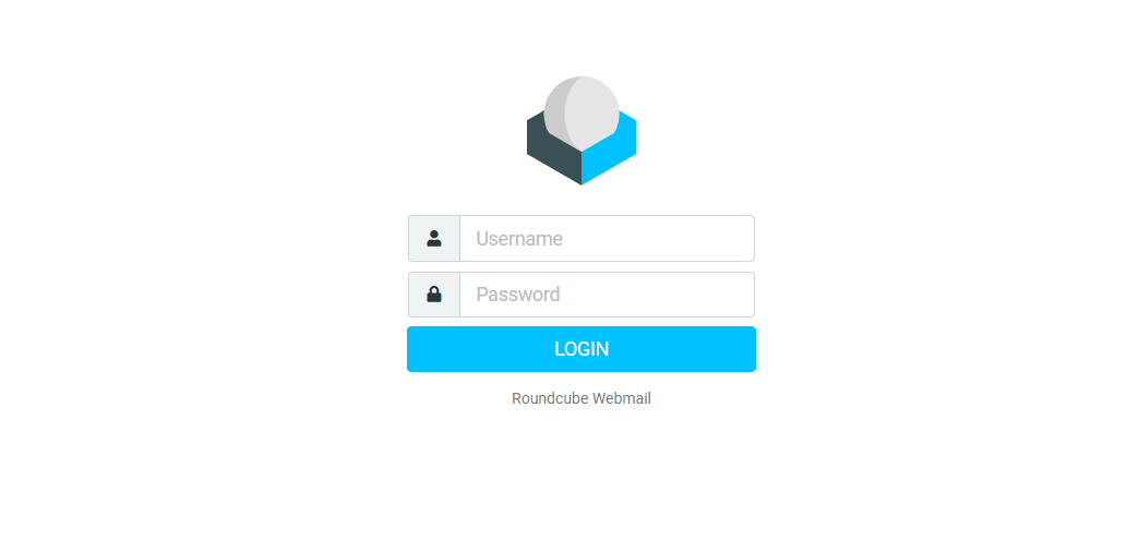 Web Mail login in CWP